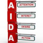 Connaissez-vous la méthode AIDA dans le domaine du marketing, de la publicité ou de la vente?